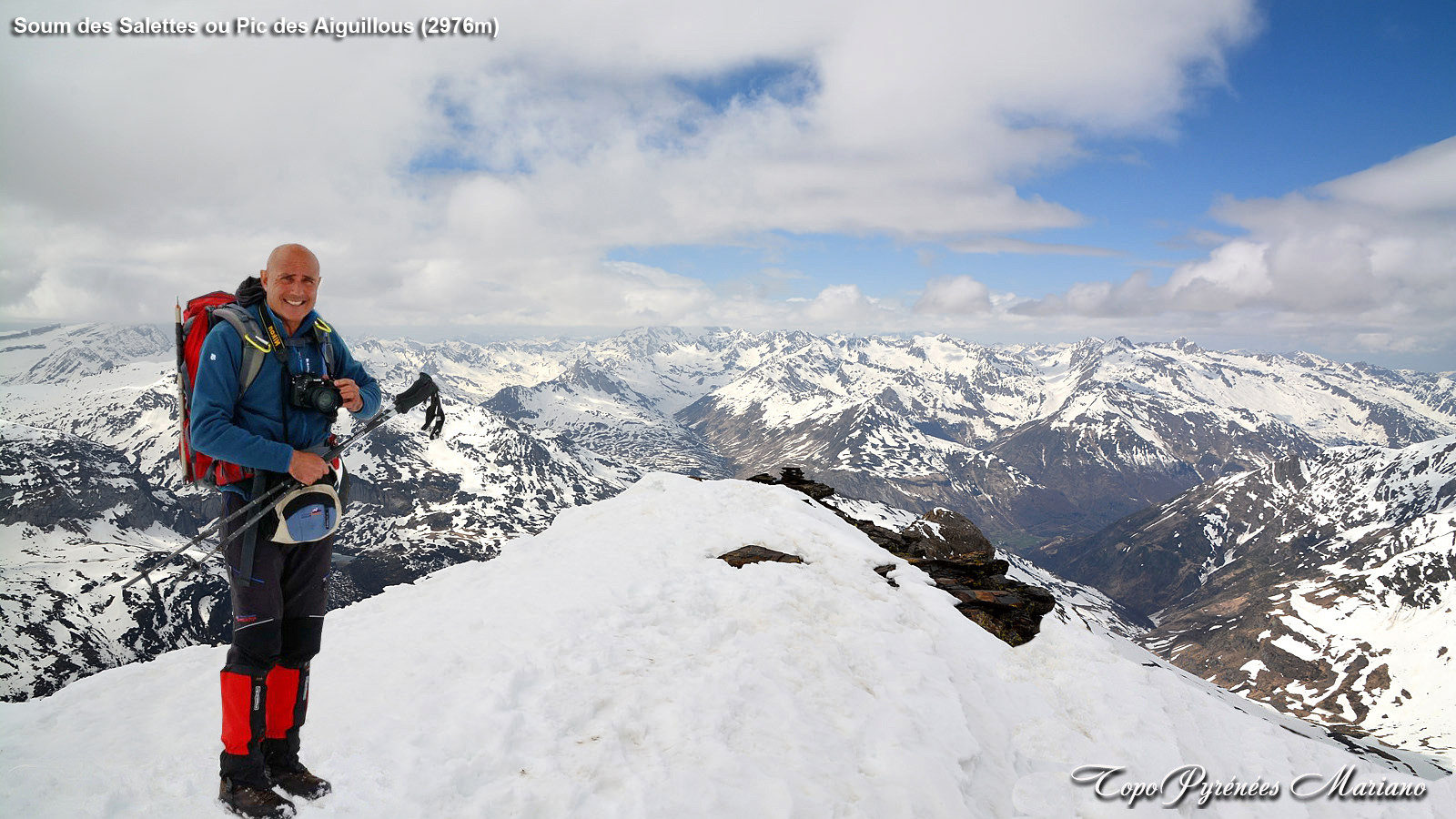 Raquettes et Ski Rando au Soum des Salettes ou Pic des Aiguillous (2976m)