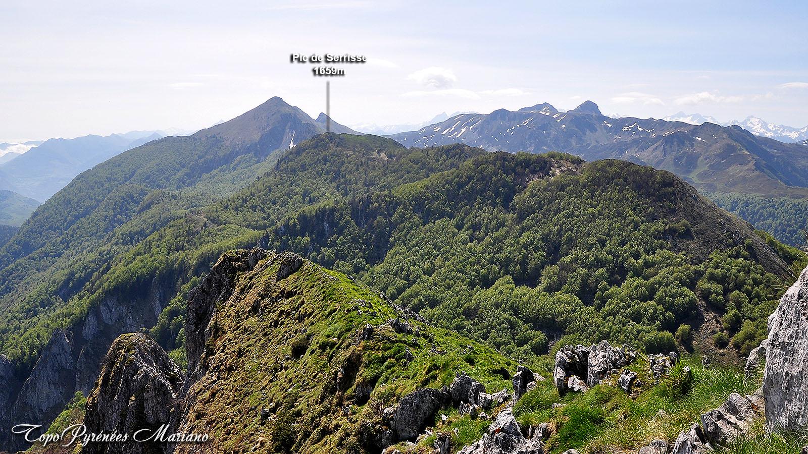 Randonnée Pic de Serrisse (1659m)