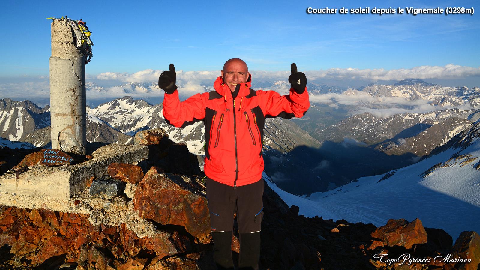 Bivouac au sommet du Vignemale (3298m)