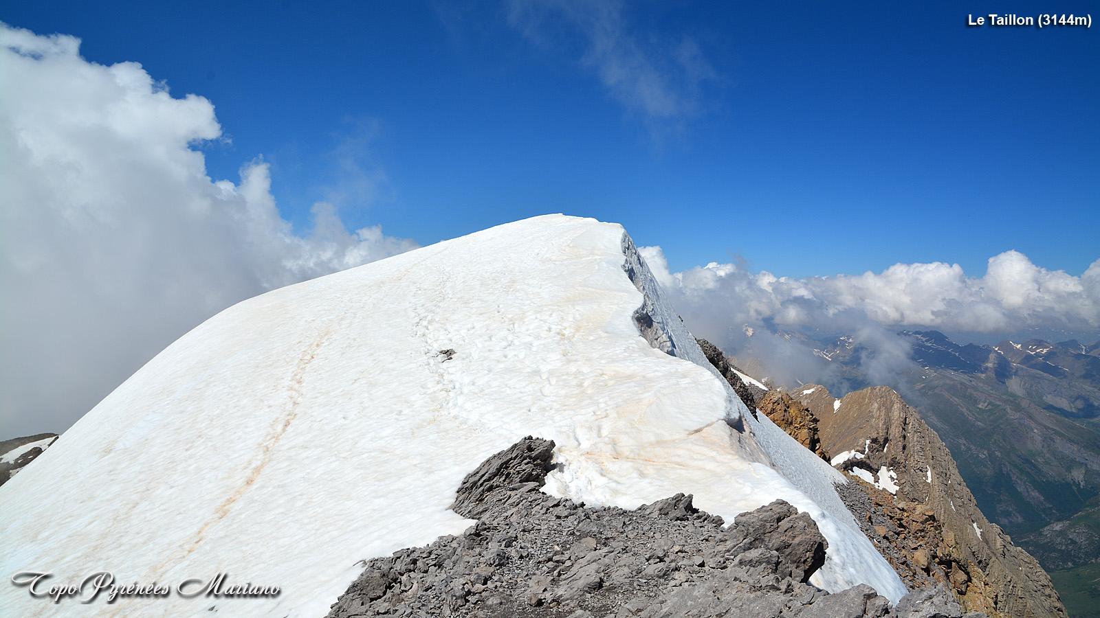 Randonnée Pic du Taillon 3144m (Hiver/Printemps)