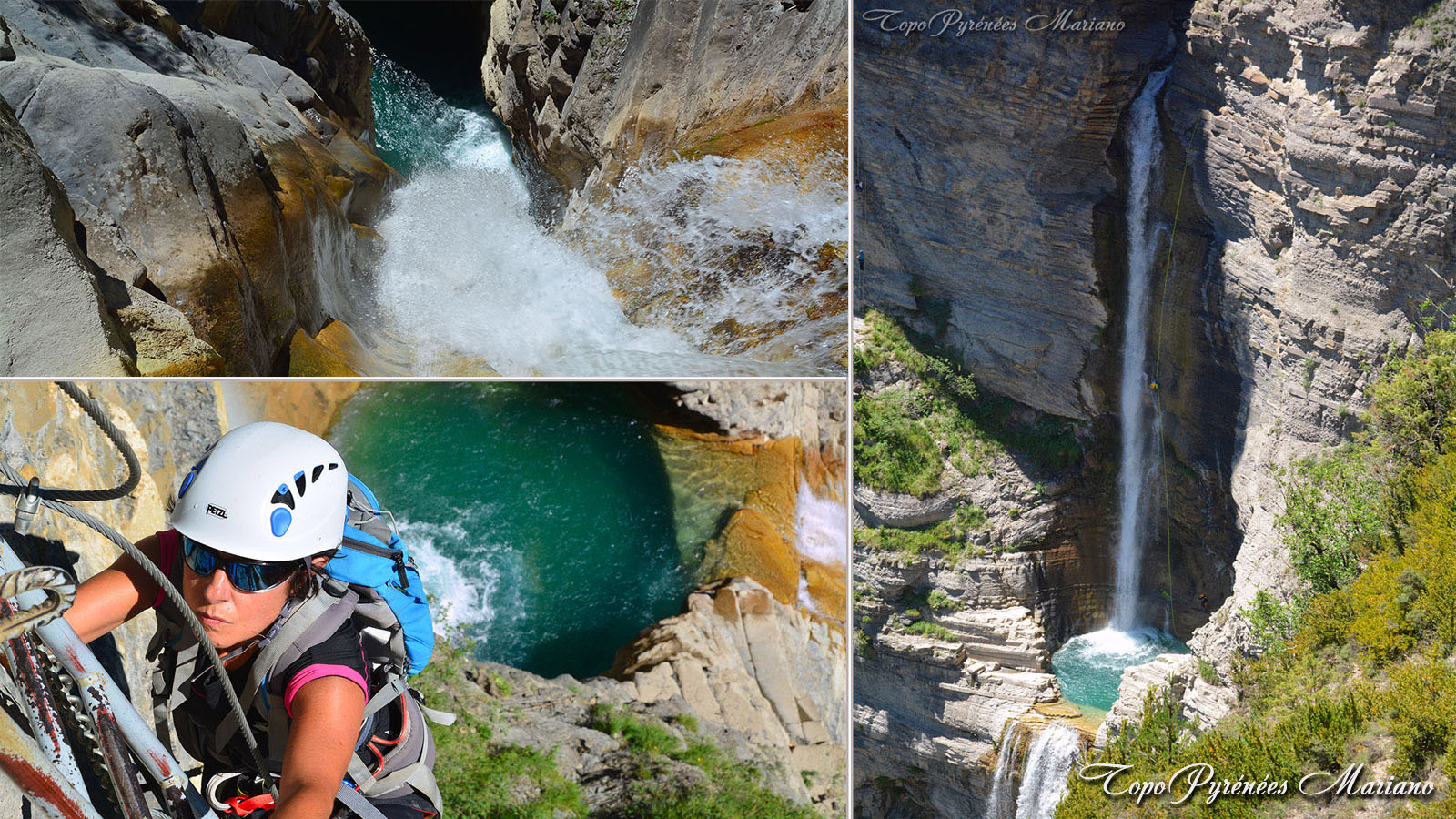 Via Ferrata de la cascade de Sorrosal