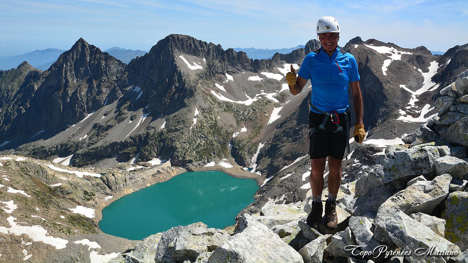 Randonnée au Pic du Seil de la Baque (3110m)
