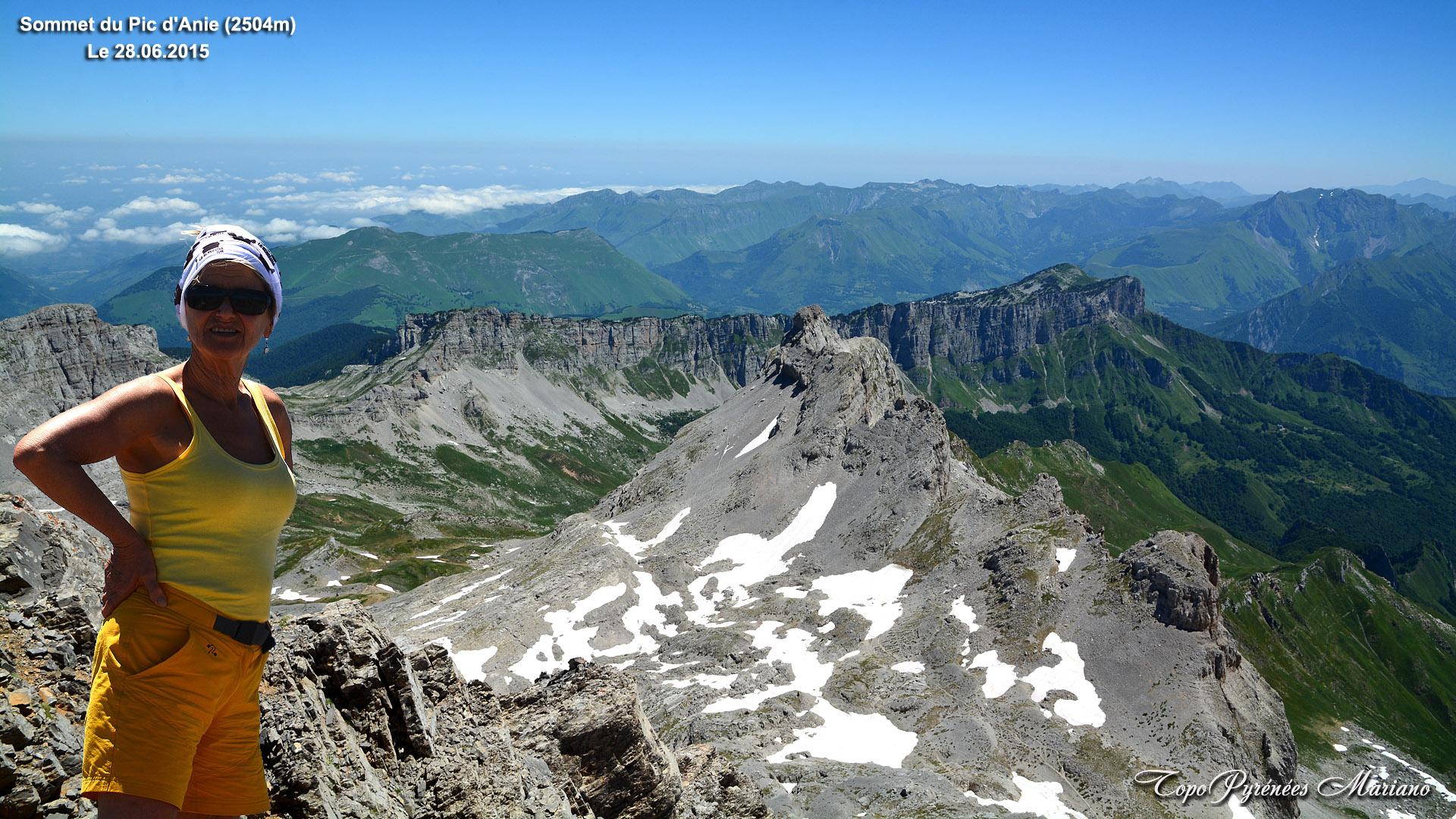 Randonnée le Pic d'Anie 2504m depuis la Pierre-St-Martin