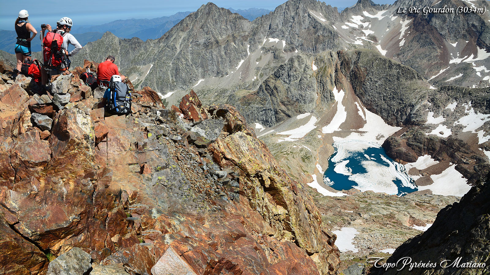 Randonnée à la Tusse de Montarqué (2889m) et au Pic Gourdon (3034m)