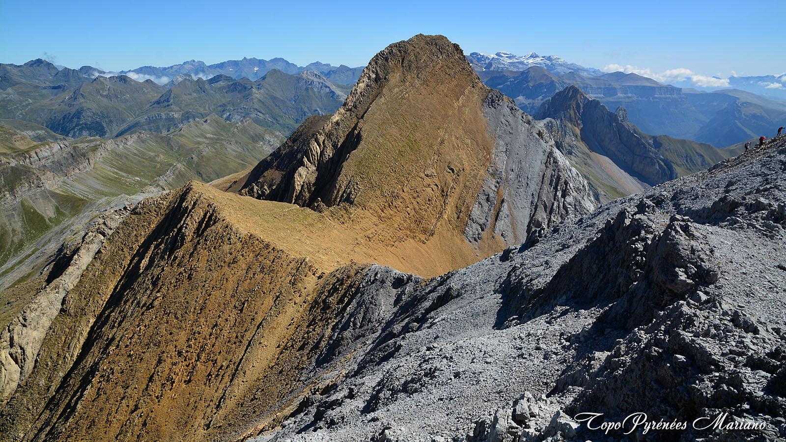 Randonnée Punta de la Ripera (2812m) et Pico de la Tendeñera (2853m)