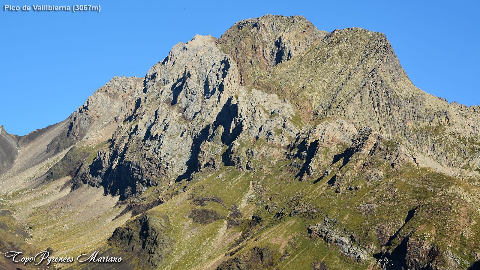 Randonnée Pico de Vallibierna (3067m) et Tuca de las Culebras (3062m)