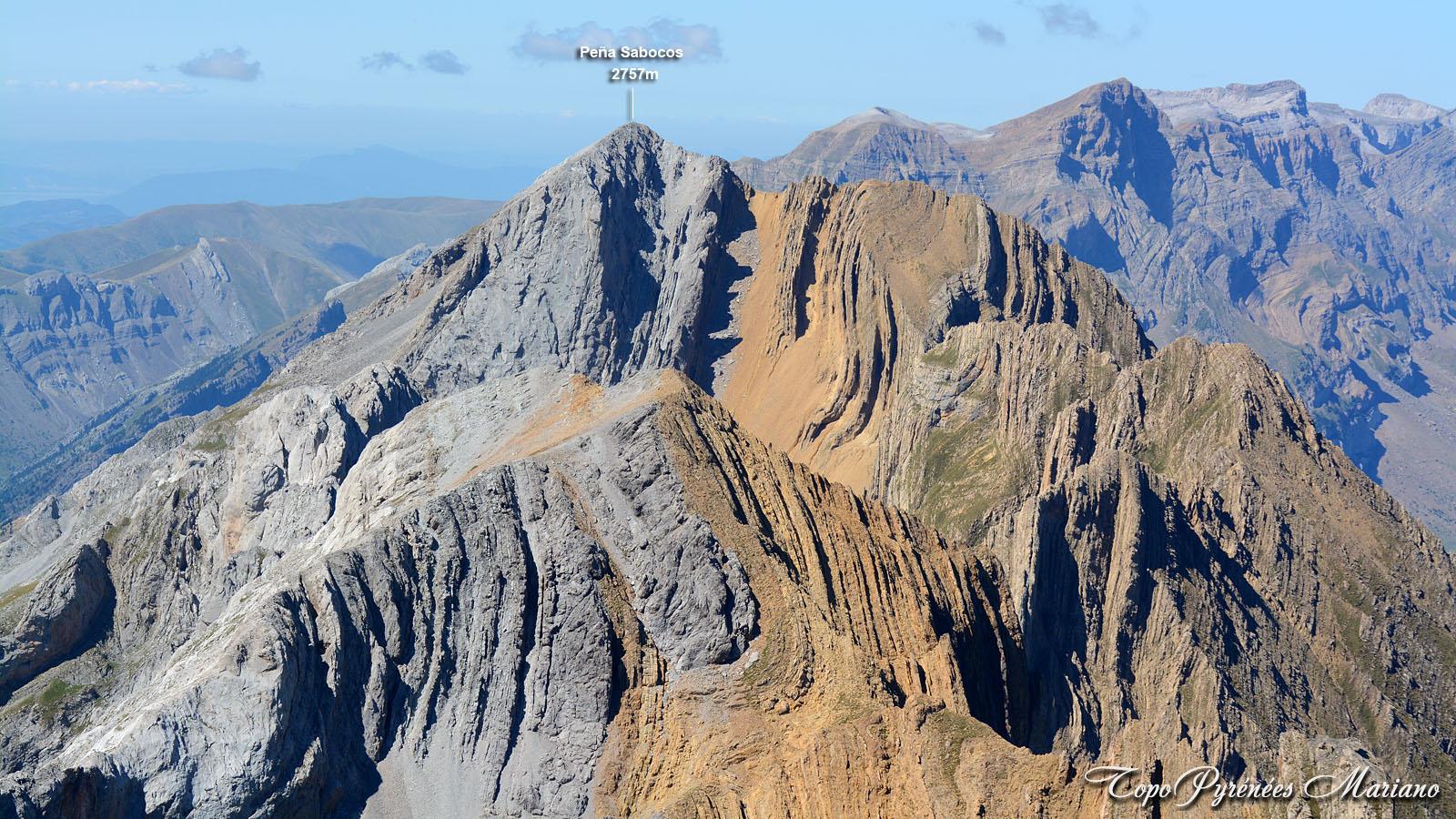 Randonnée Peña Sabocos 2757m en boucle par les crêtes