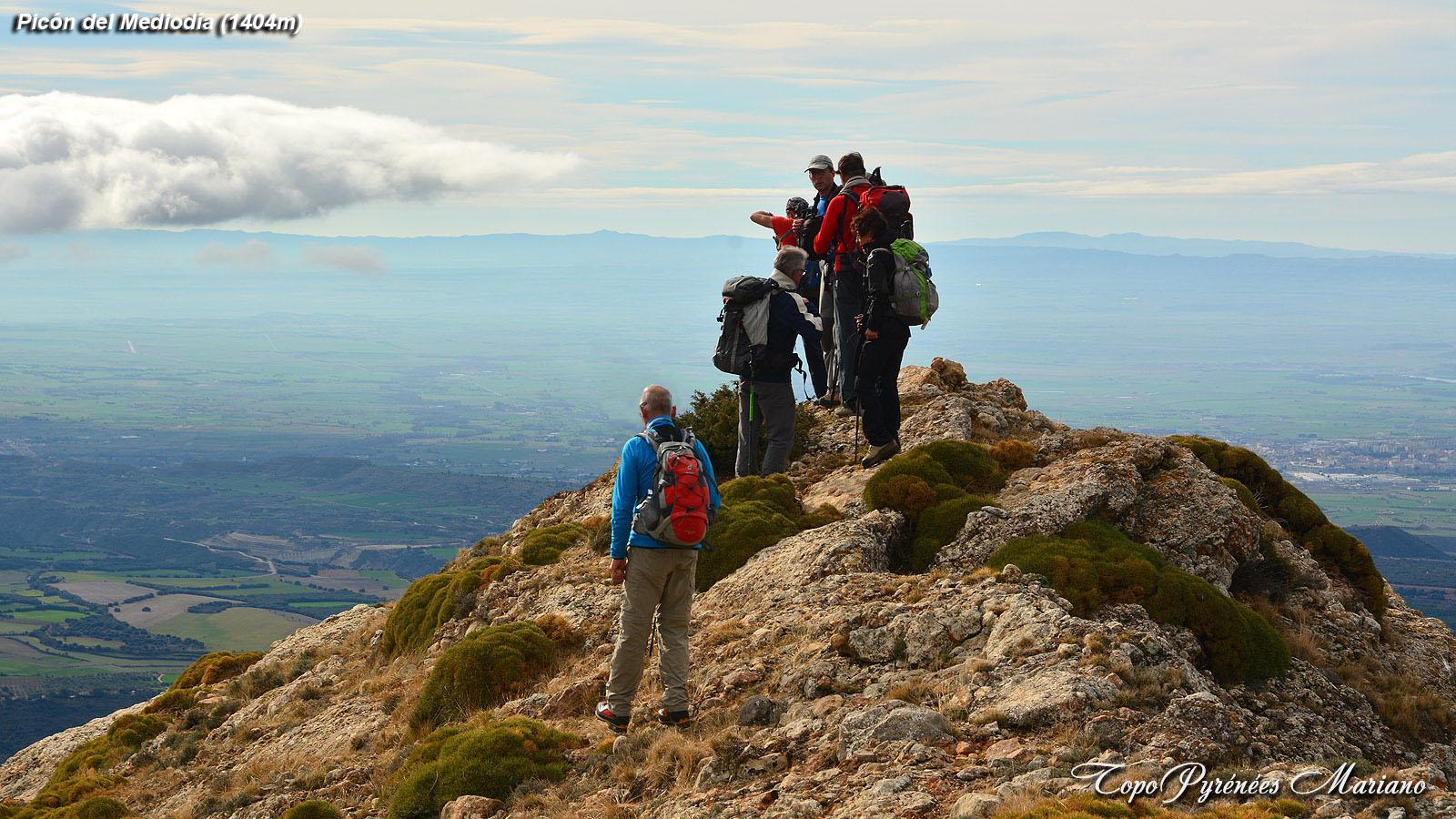 Randonnée Picón del Mediodía (1404m)