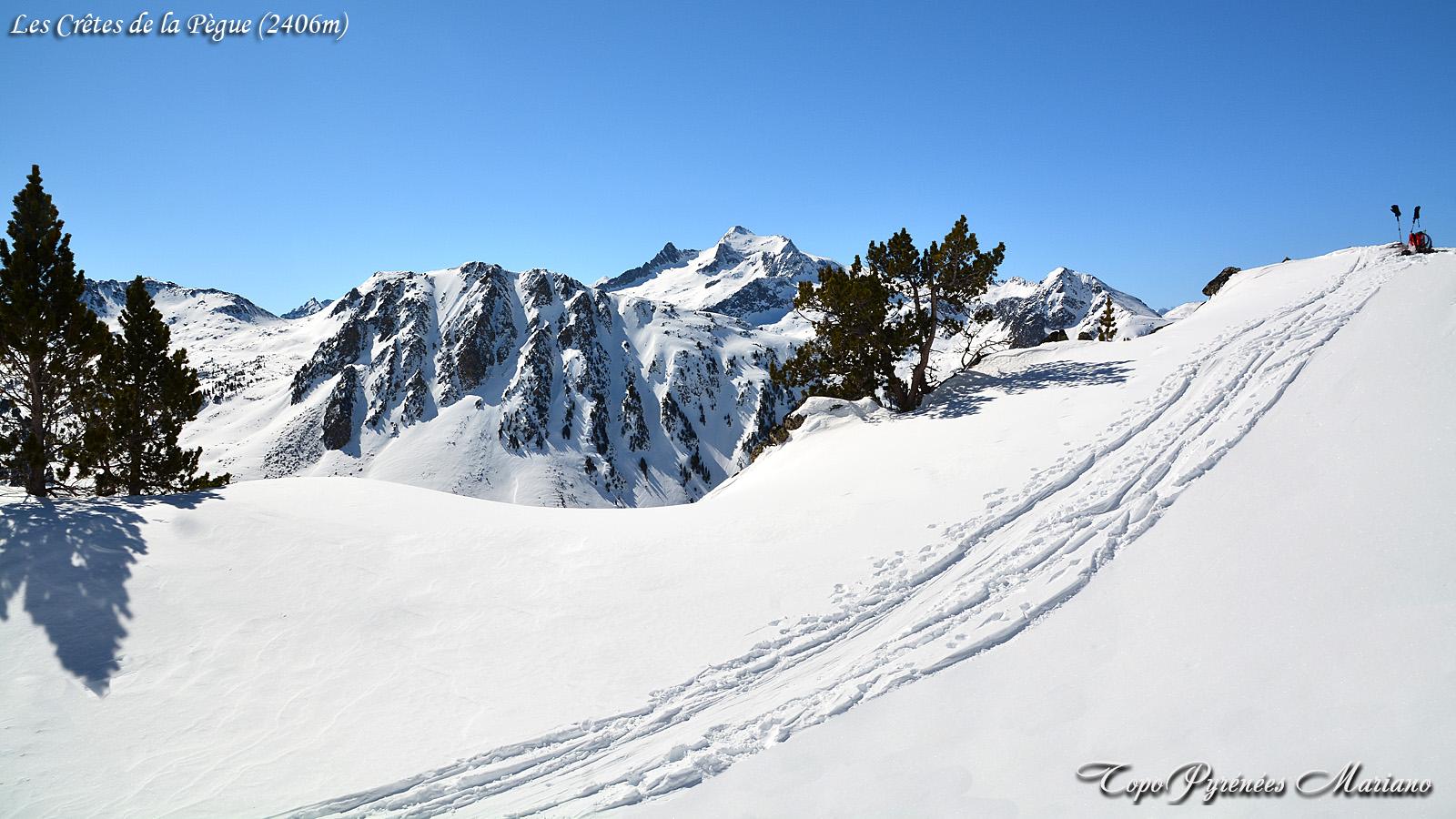 Raquettes Crêtes de la Pègue (2406m)