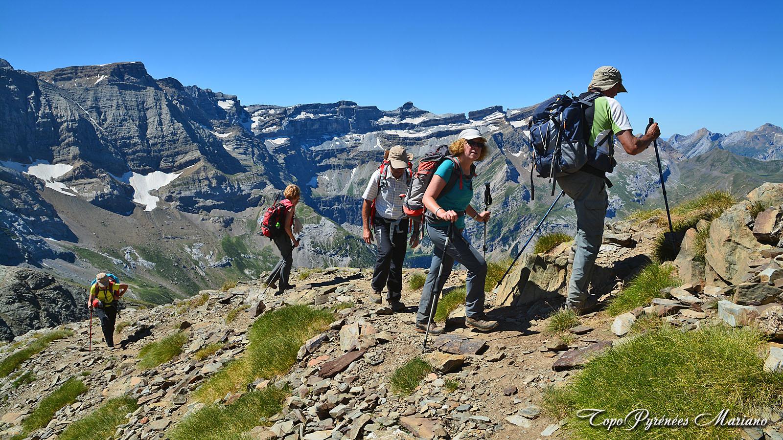 Randonnée pic du Piméné (2801m)