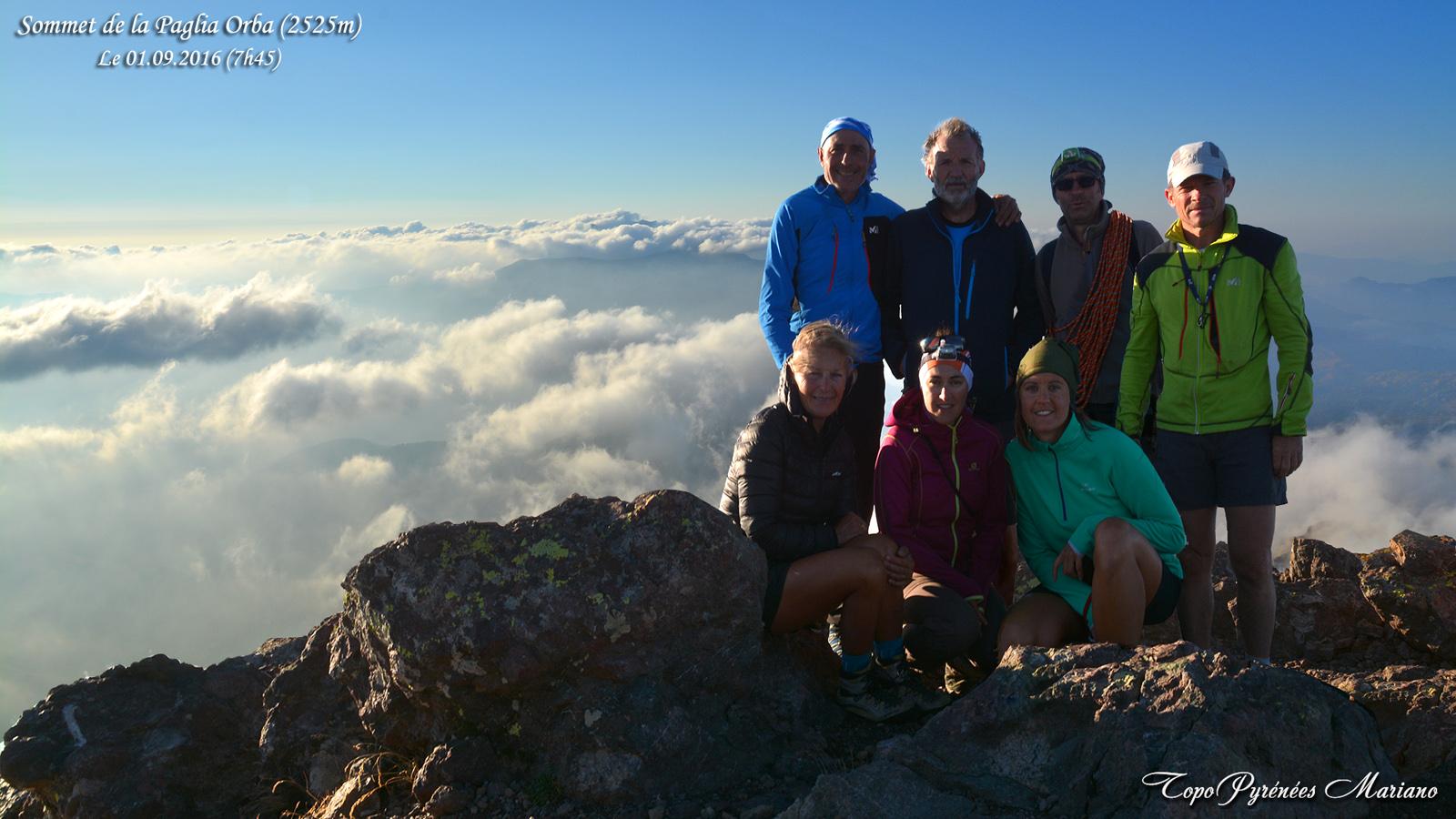 Randonnée Paglia Orba (2525m) GR20 Corse
