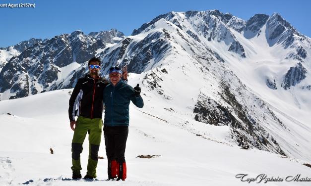 Raquettes au Mount Agut de Betpouey (2157m)