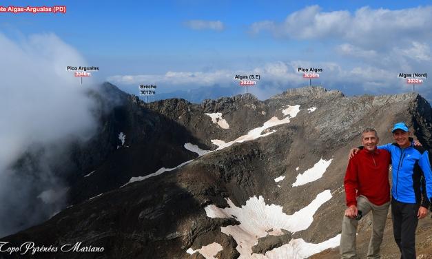 Randonnée Trilogie Garmo Negro (3051m), Algas (3036m) et Argualas (3046m)