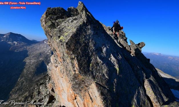 Randonnée Pic des trois Conseillers (3039m) par le Turon et la brèche de Néouvielle