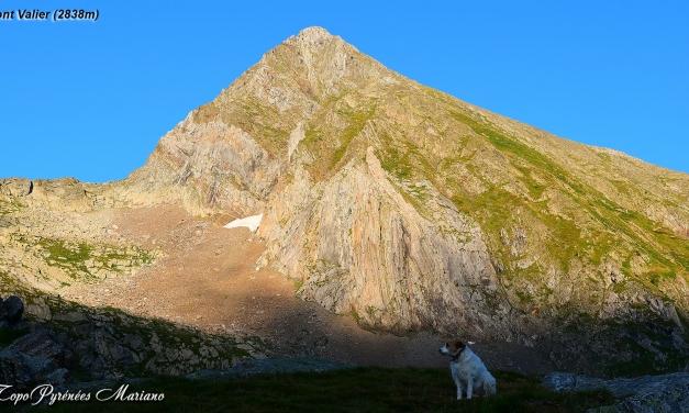 Randonnée le Mont Valier (2838m)
