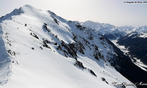 Sortie hivernale à la Sagette de Buzy (2058m)