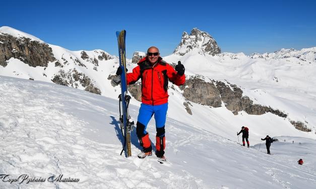 Skirando au Pic Cuyalaret (2289m)