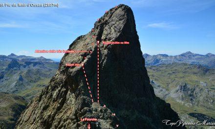 La montée au petit Pic d'Ossau (2807m)