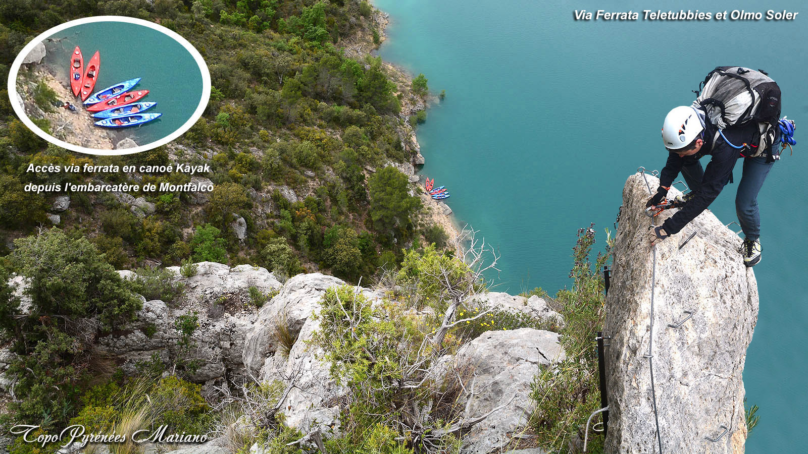 Via Ferrata Teletubbies/Olmo-Soler
