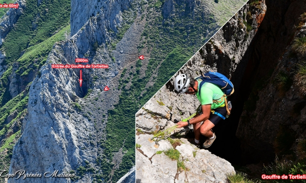 Pico de la Zapatilla (2252m) Retour par le Gouffre de Tortiellas