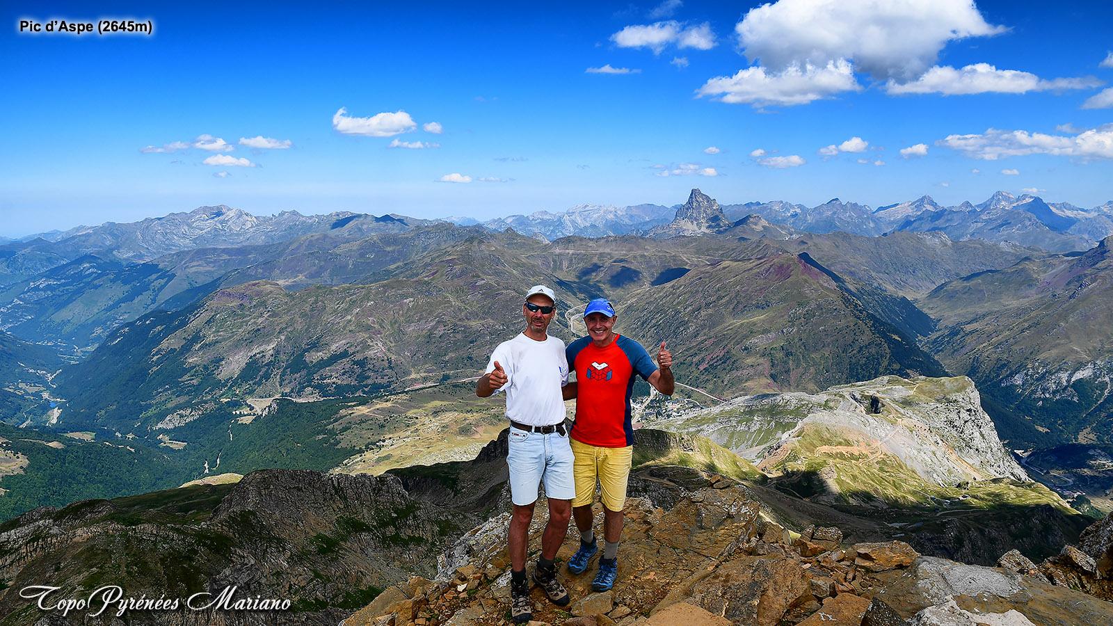 Trilogie au massif d'Aspe avec les Pics: Llena de Bozo (2559m), Llena de la Garganta (2599m) et Pic d'Aspe (2645m)