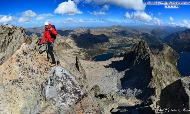 Alpinisme: Pic Néouvielle (3091m) par l'Arête des trois Conseillers