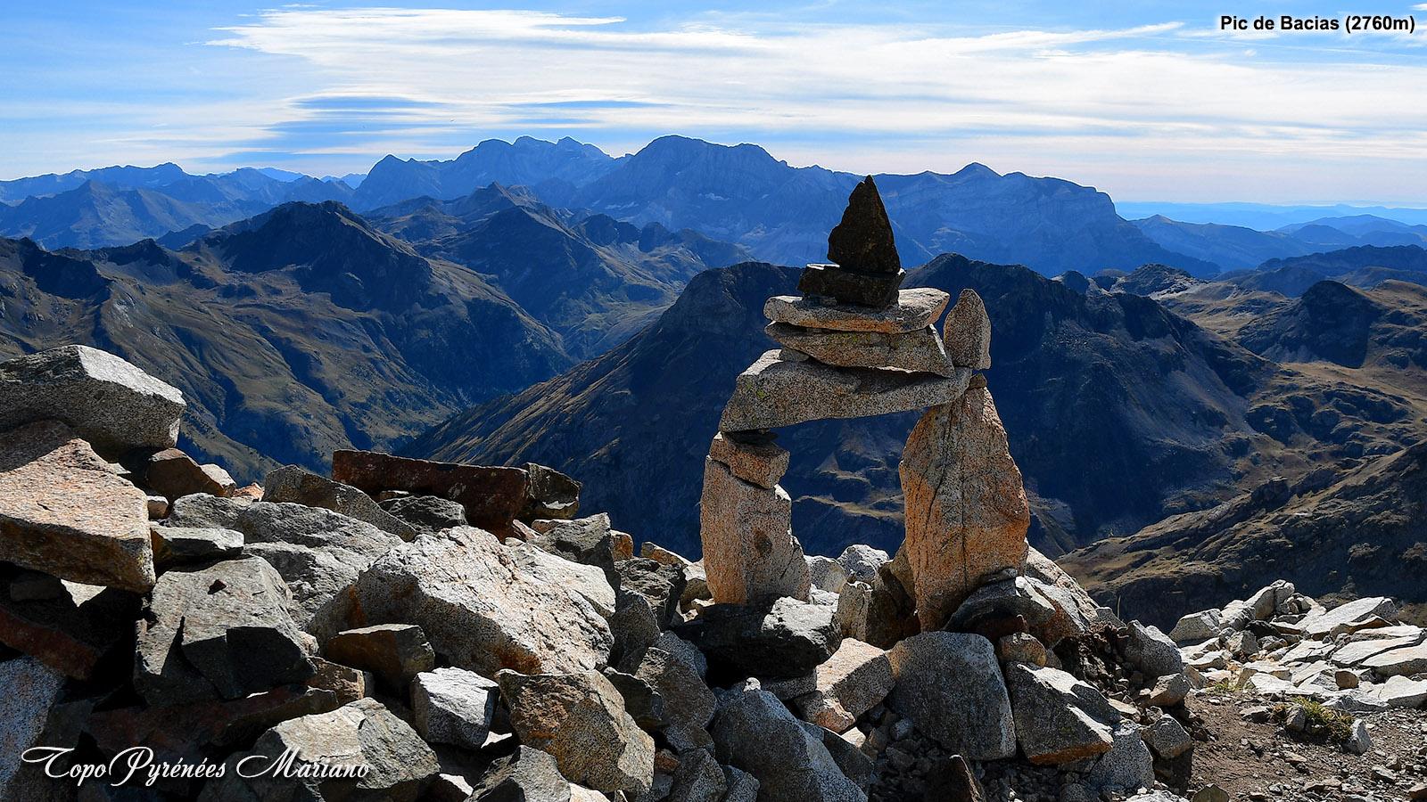 Randonnée Pic de Bacias (2760m)