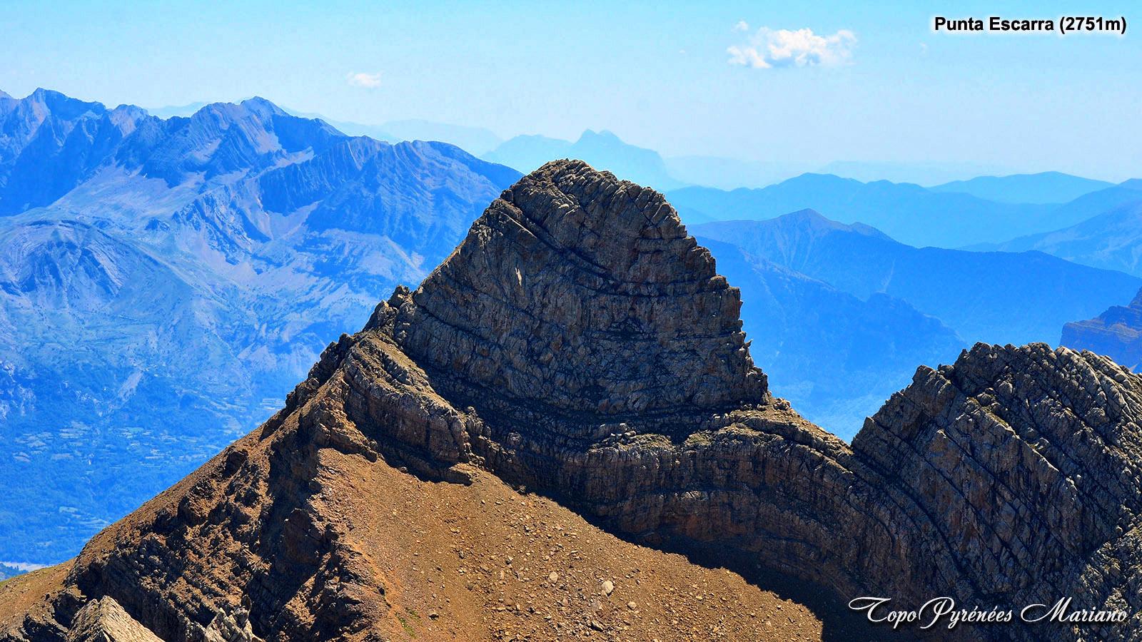 Randonnée à la Punta Escarra (2751m)