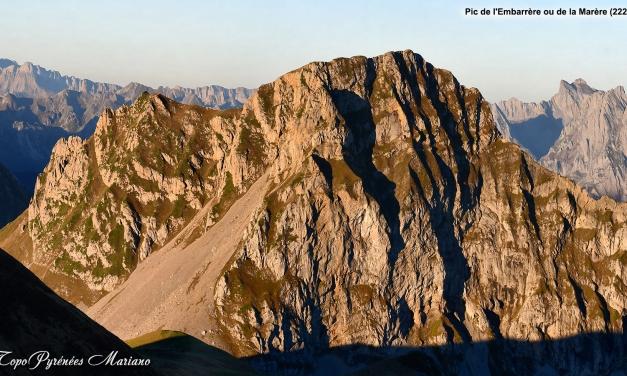 Pic de l'Embarrère ou de la Marère (2221m)