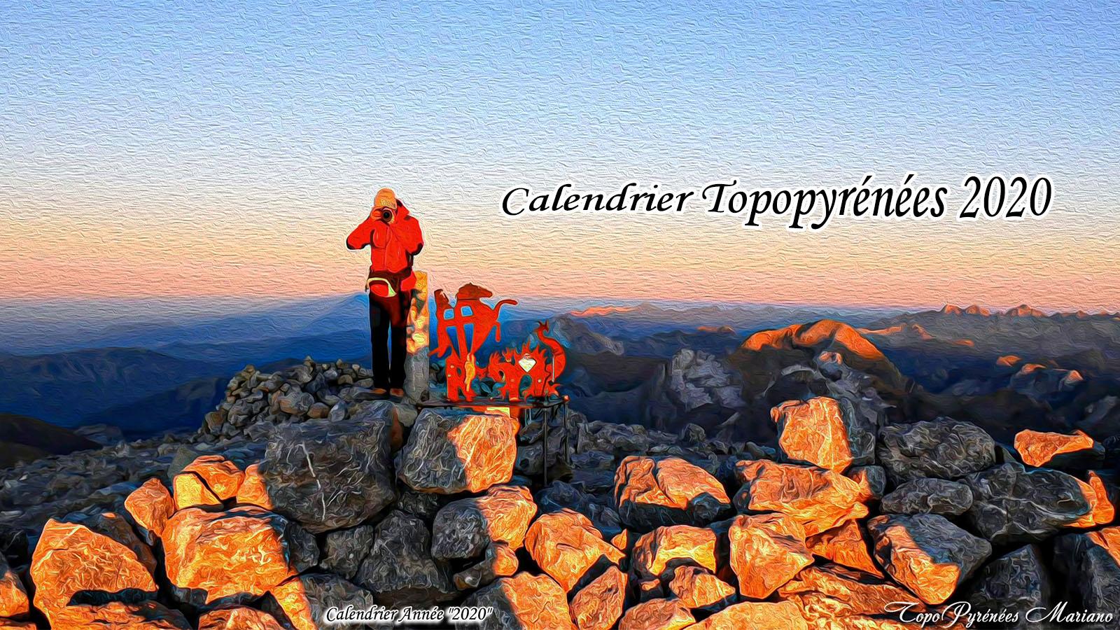 Calendrier TopoPyrénées Année 2020