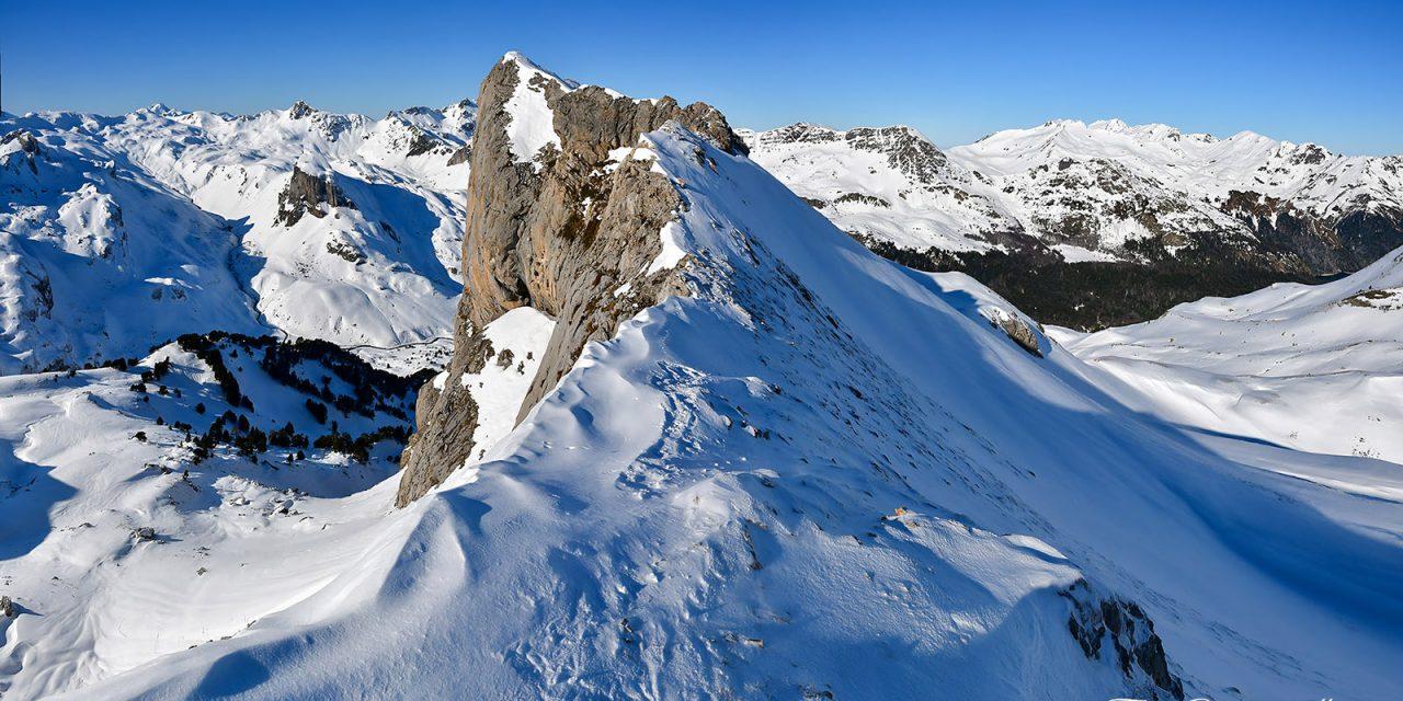 Raquettes à la Pène de Peyreget (2252m)