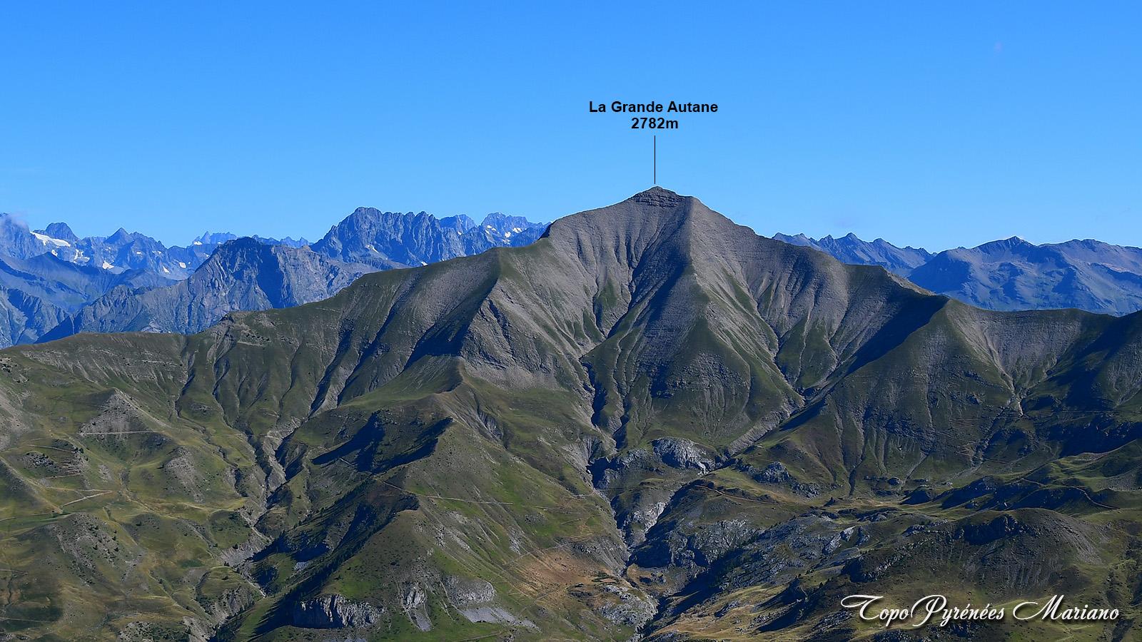 Randonnée en boucle à la Grande Autane (2782m)