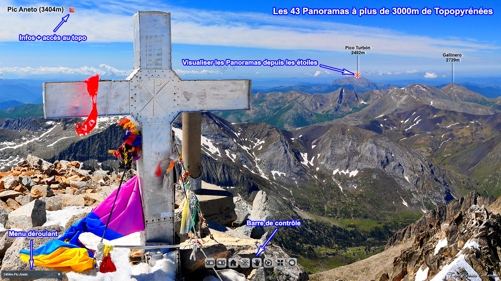 Panoramas sur 360° pour les 3000 de Topopyrénées