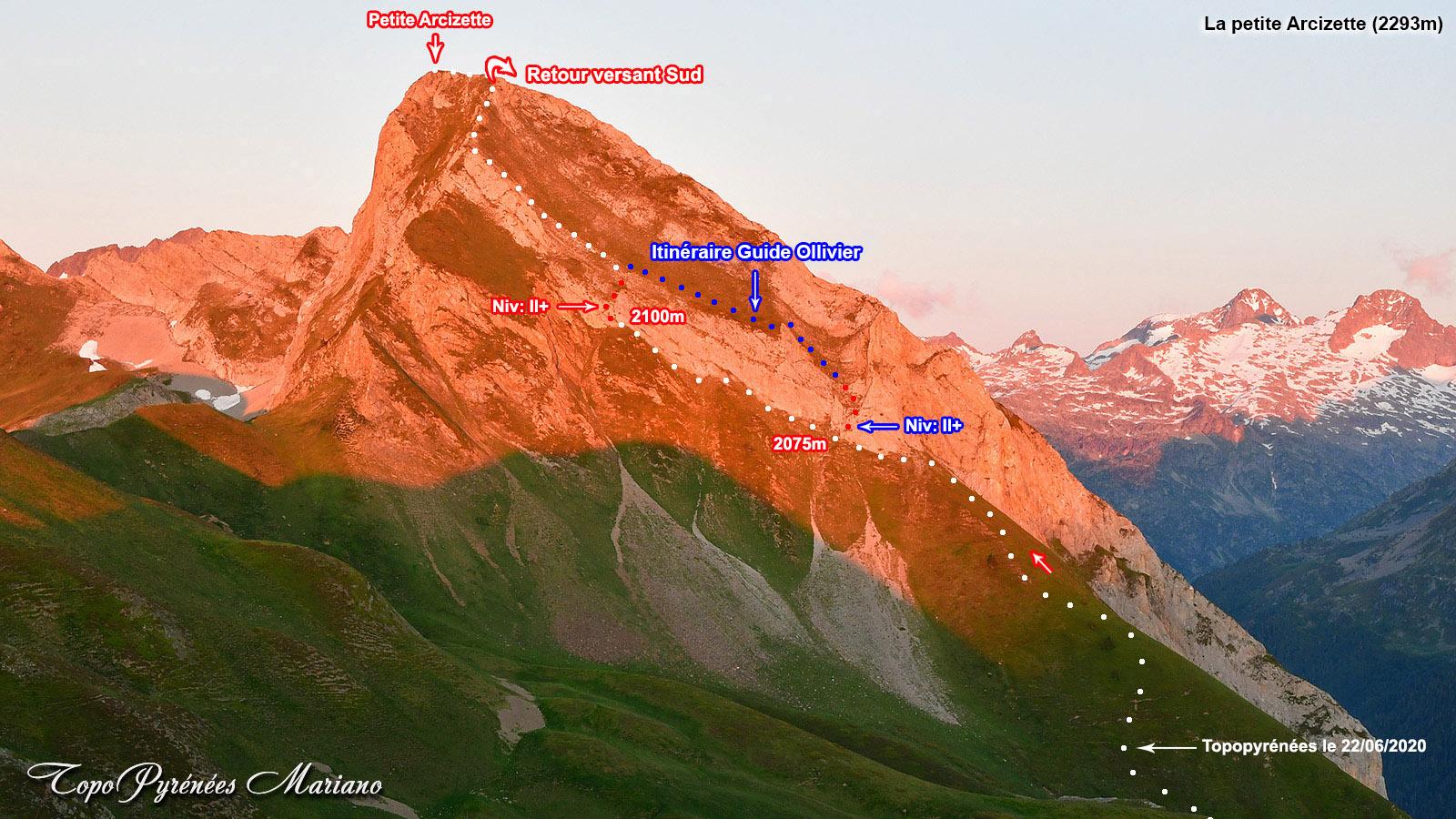 La Petite Arcizette (2293m)