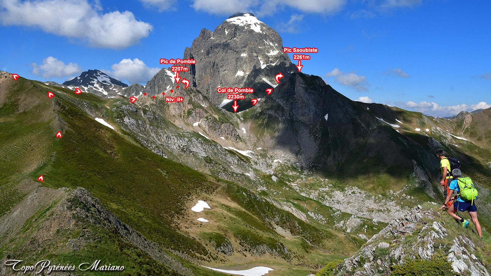 Randonnée au Pic Saoubiste (2261m)