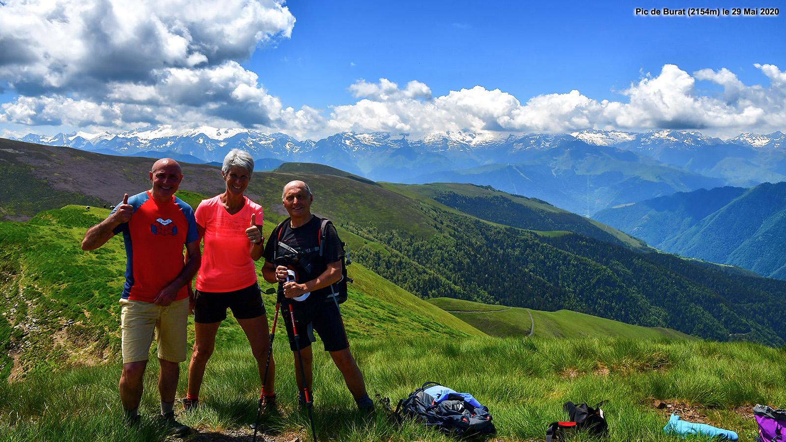 Randonnée Pic de Burat (2154m)