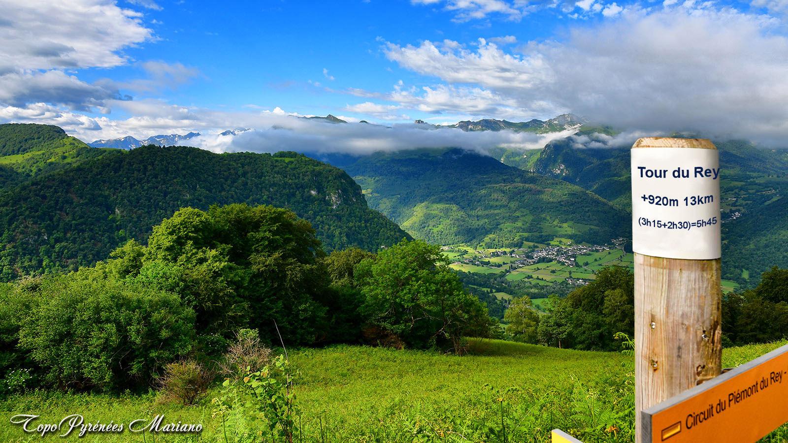 Randonnée Tour de la Montagne du Rey (1112m)