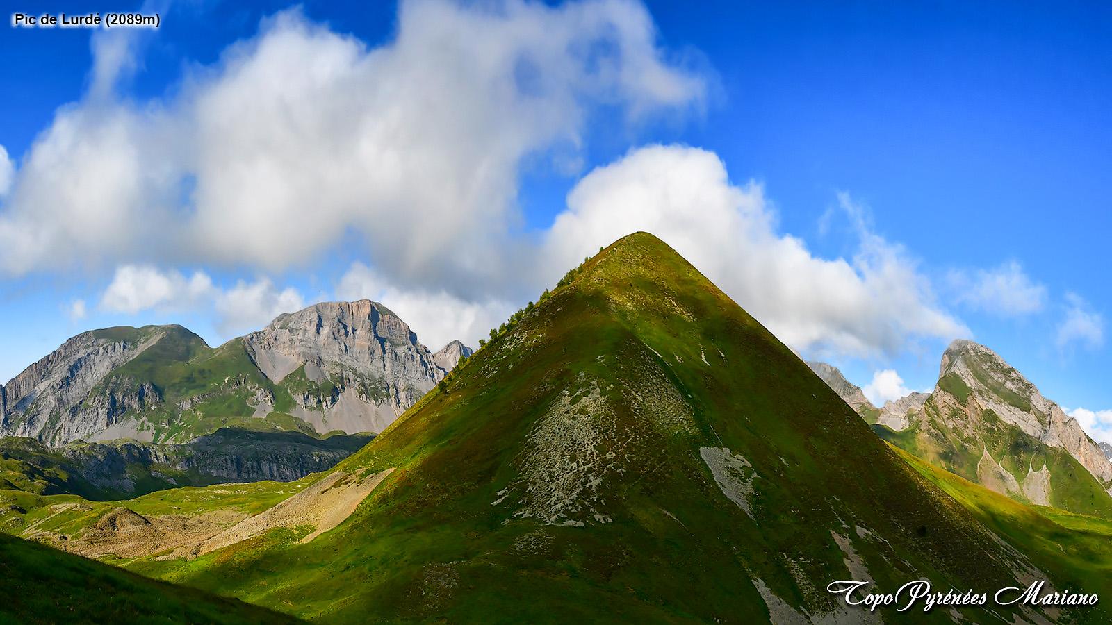 Randonnée au col et Pic de Lurdé (2089m)