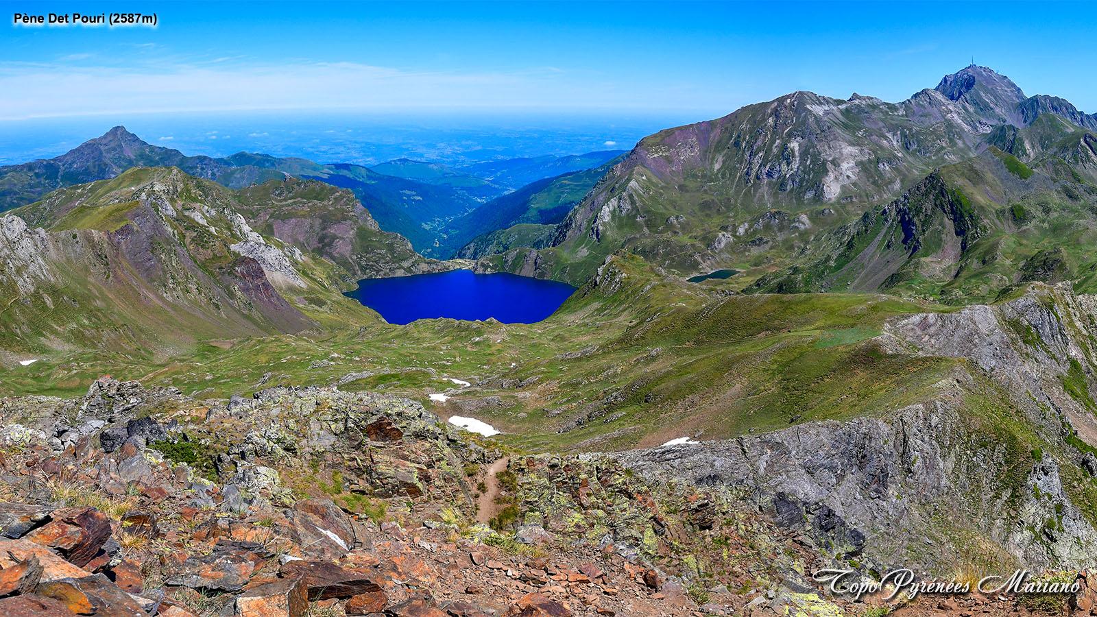 Randonnée Pène Det Pouri depuis Barèges 2587m