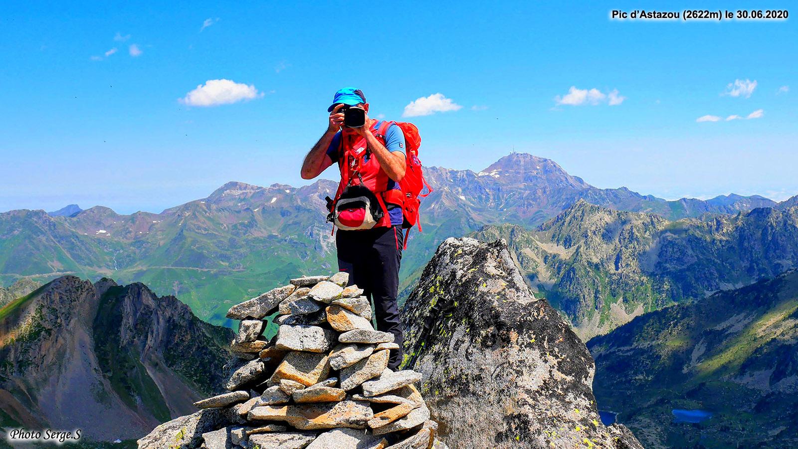 Le Pic d'Astazou (2622m) par les cols de la Mourèle et Lurtet
